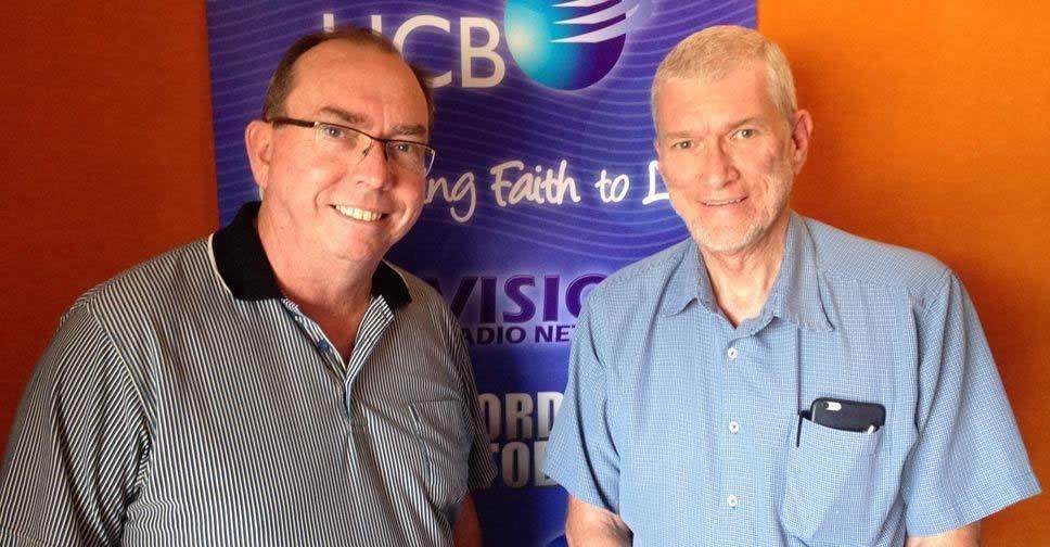 Neil Johnson with Ken Ham