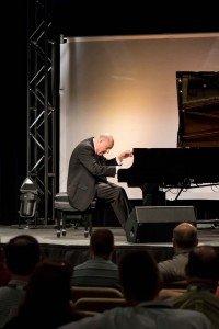 Sam Rotman at piano