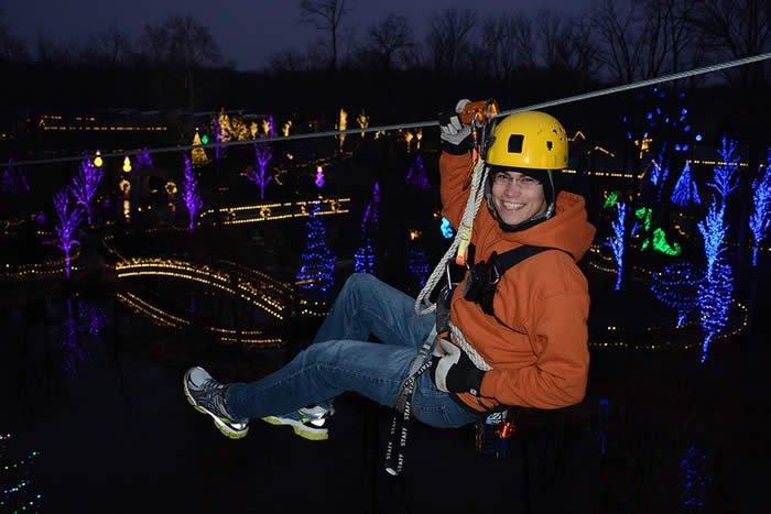 Christmas Town Ziplines
