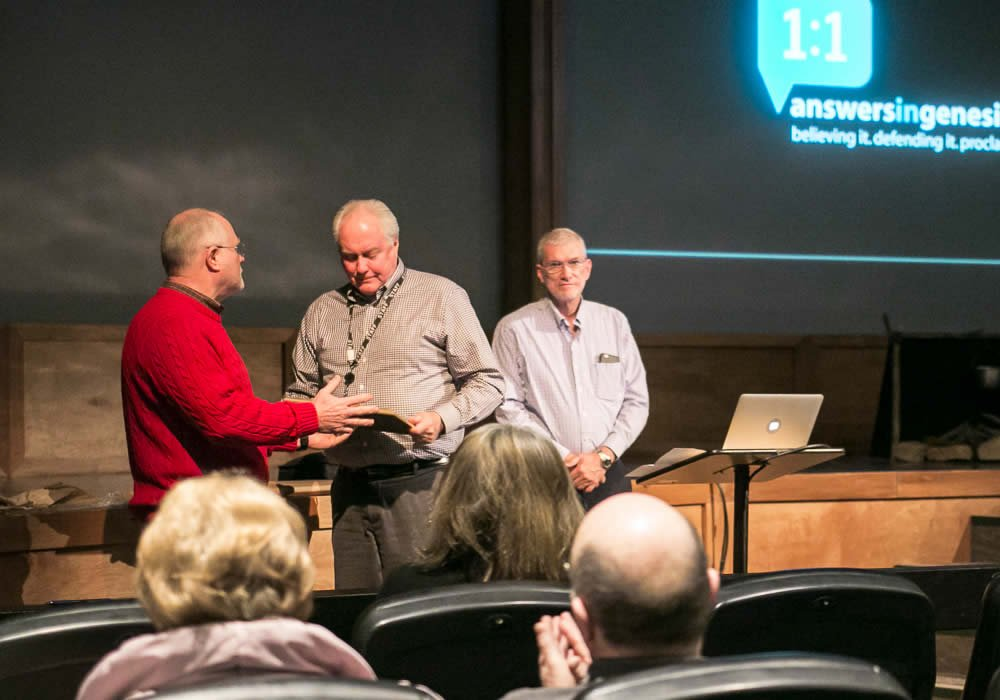 Mike Zovath, Mark Looy, Ken Ham