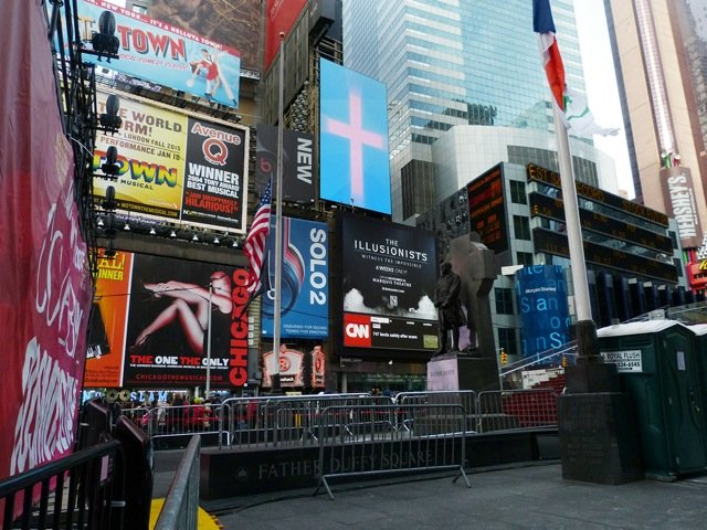 AiG Billboard at Times Square