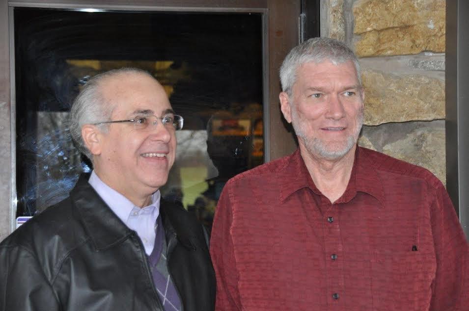 Ken with Dr. Marriott