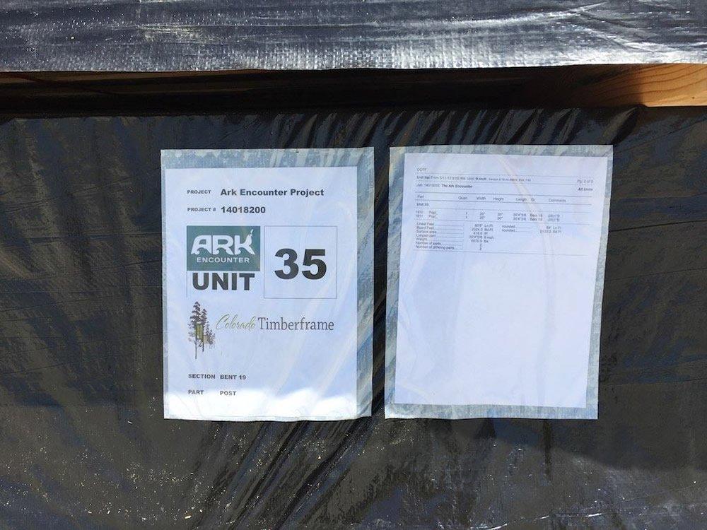 Timber Label
