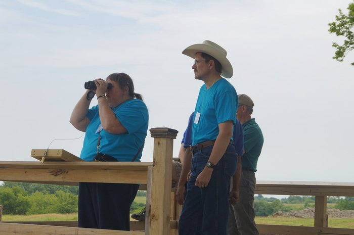 Looking at the Ark with Binoculars