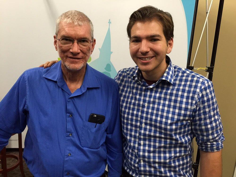 Ken with Cooper