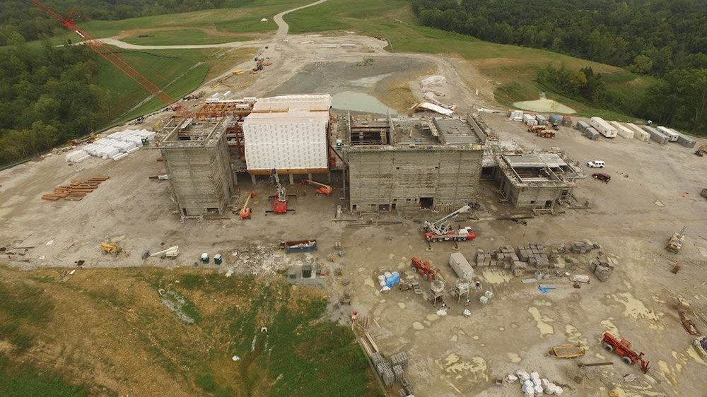 Rear Site Overview from Drone
