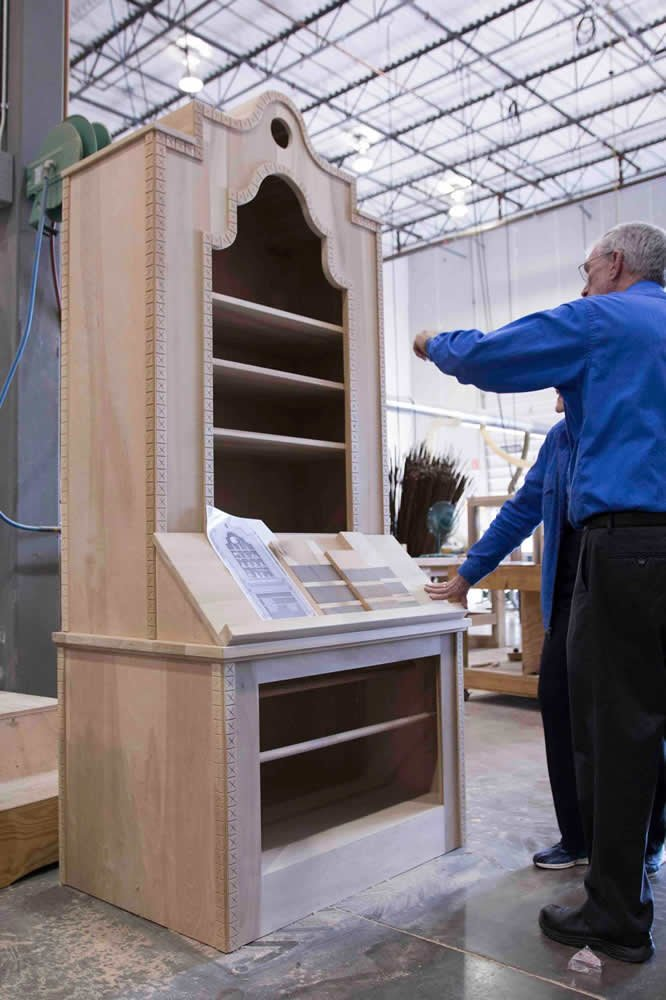 June Hunt Vists the Ark Encounter Design Studio