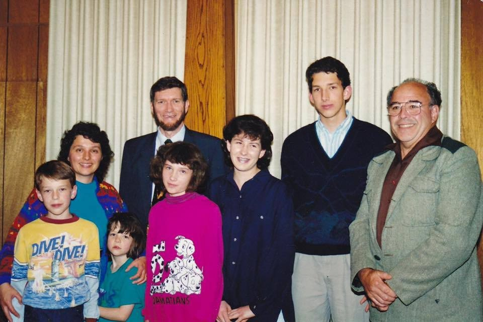 Ken Ham Family with Mally's Father