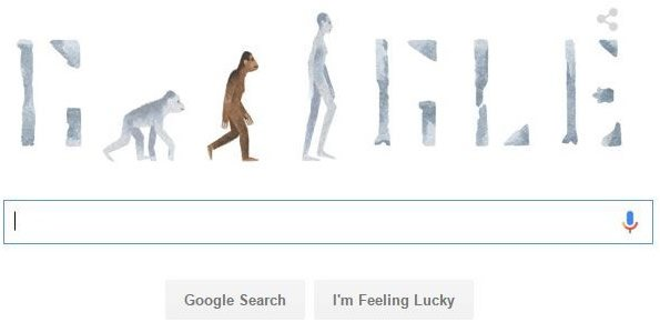 Google Doodle on Lucy