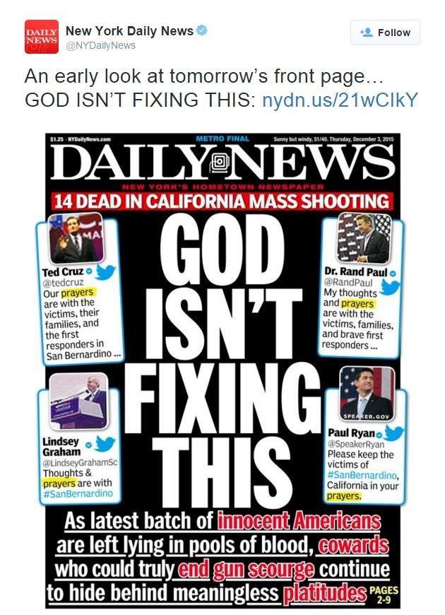 Screenshot of Daily News Cover