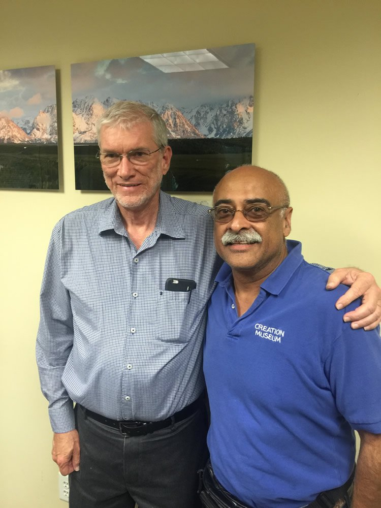Ken Ham and Hector Aybar