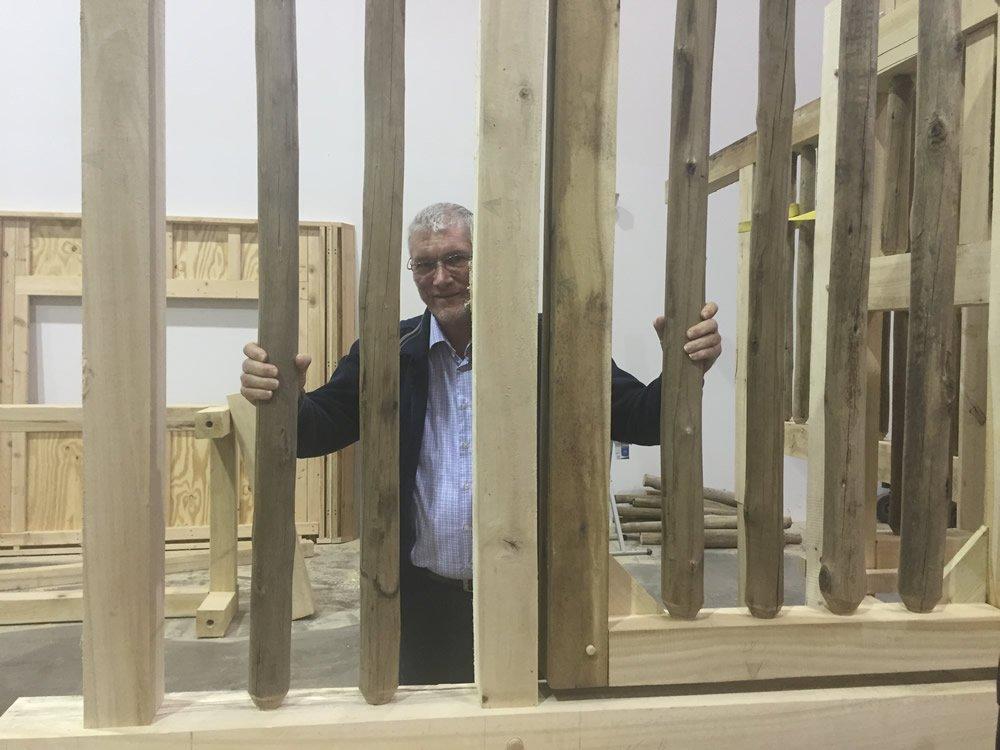 Ken in Cage