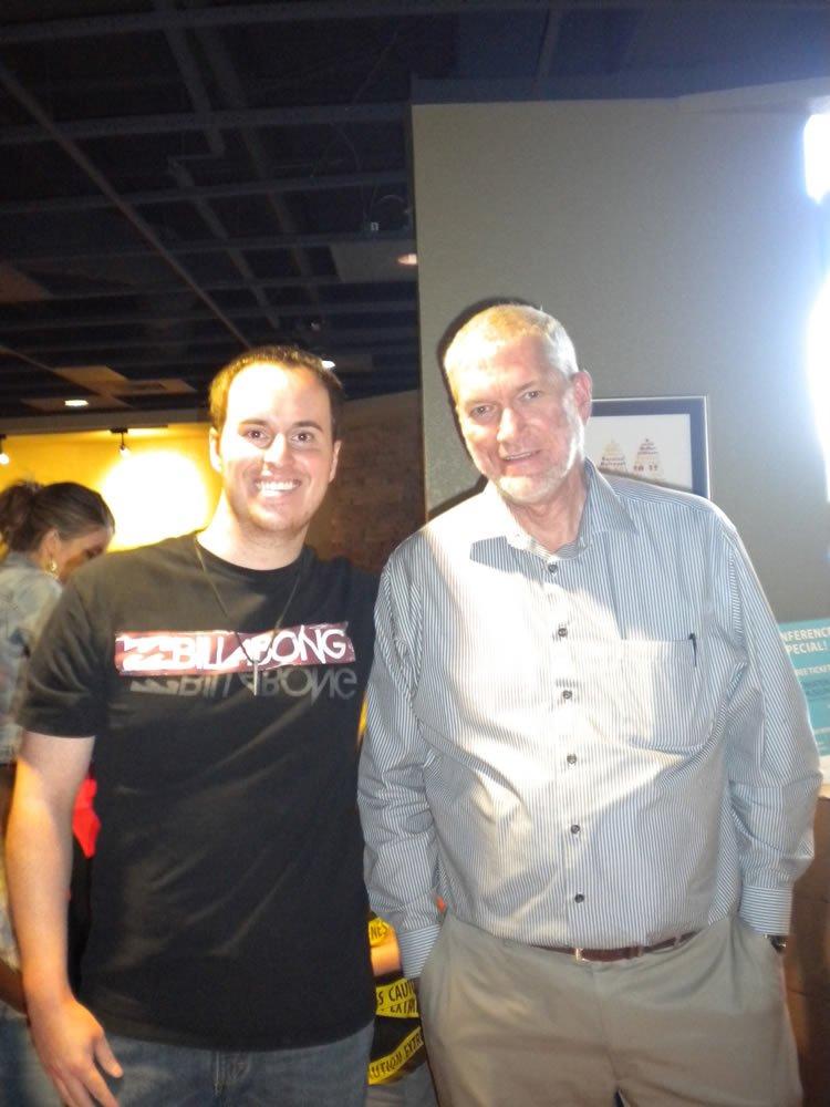 Ken and Bryan in Colorado