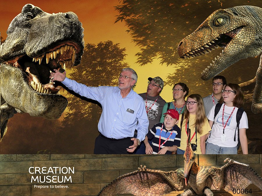 Ethan's Visit to the Creation Museum