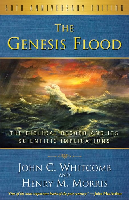 Current Cover of The Genesis Flood