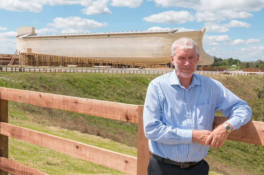 Ken Ham near Ark Encounter