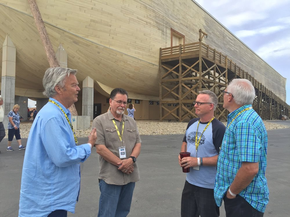 Pastors in Front of Ark