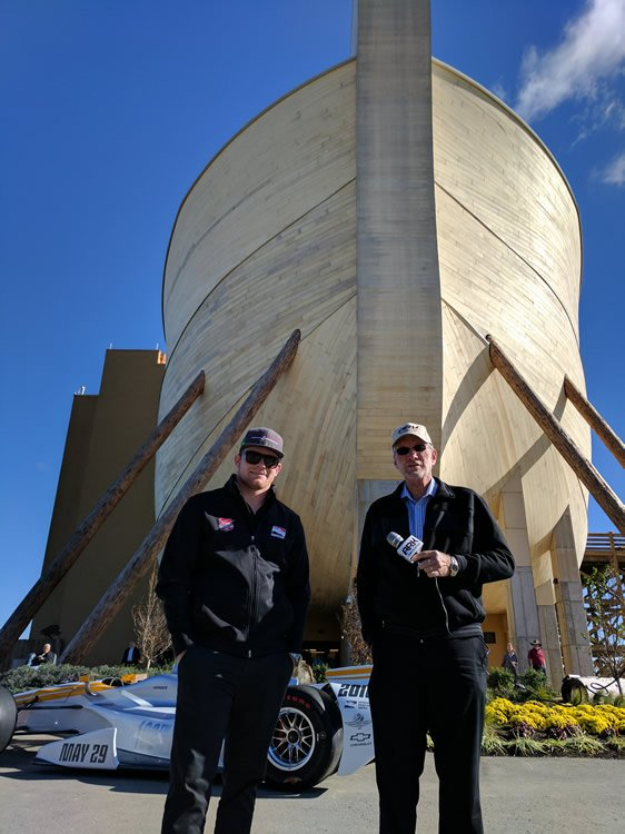Conor Daly and Ken Ham