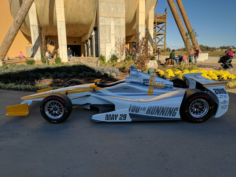Conor Daly's Show Car