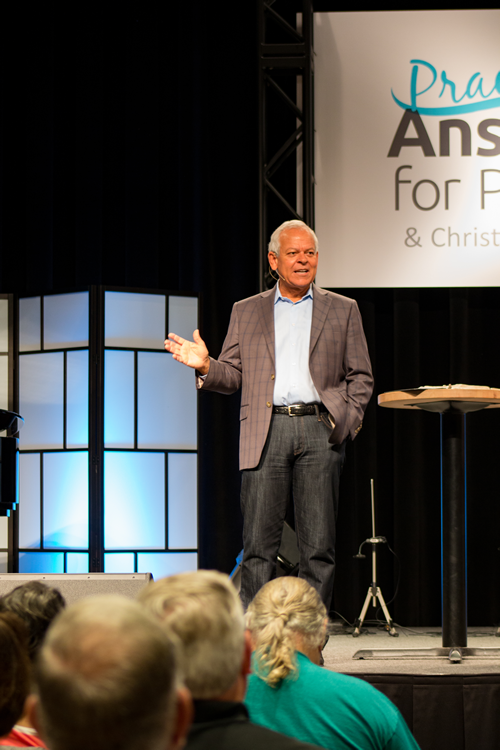 Dr. Johnny Hunt at Answers for Pastors