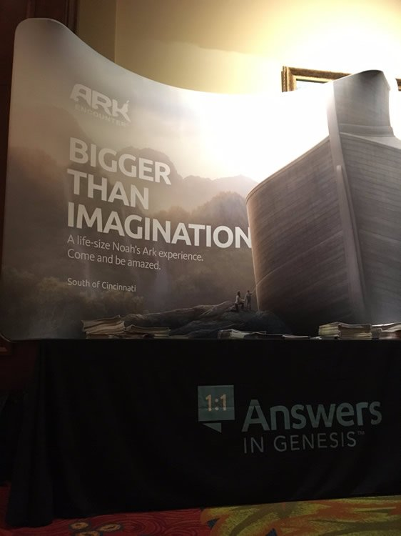 AiG Display at Bible Bee