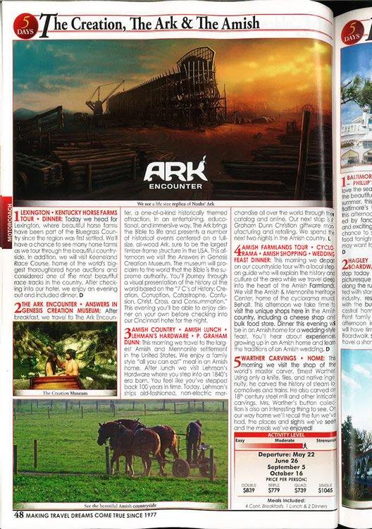 Christian Tours Magazine