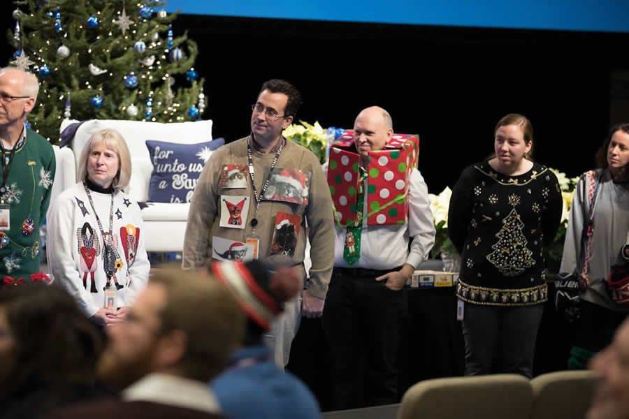Christmas Sweater Competition