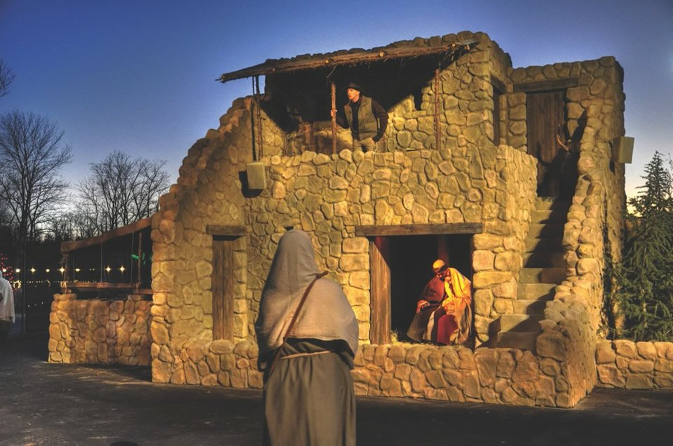 Christmas Town at the Creation Museum