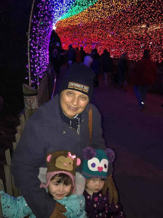 Christmas at the Cincinnati Zoo
