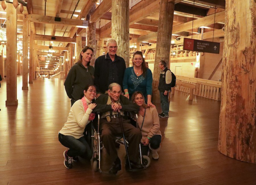 Family Gathering at the Ark Encounter