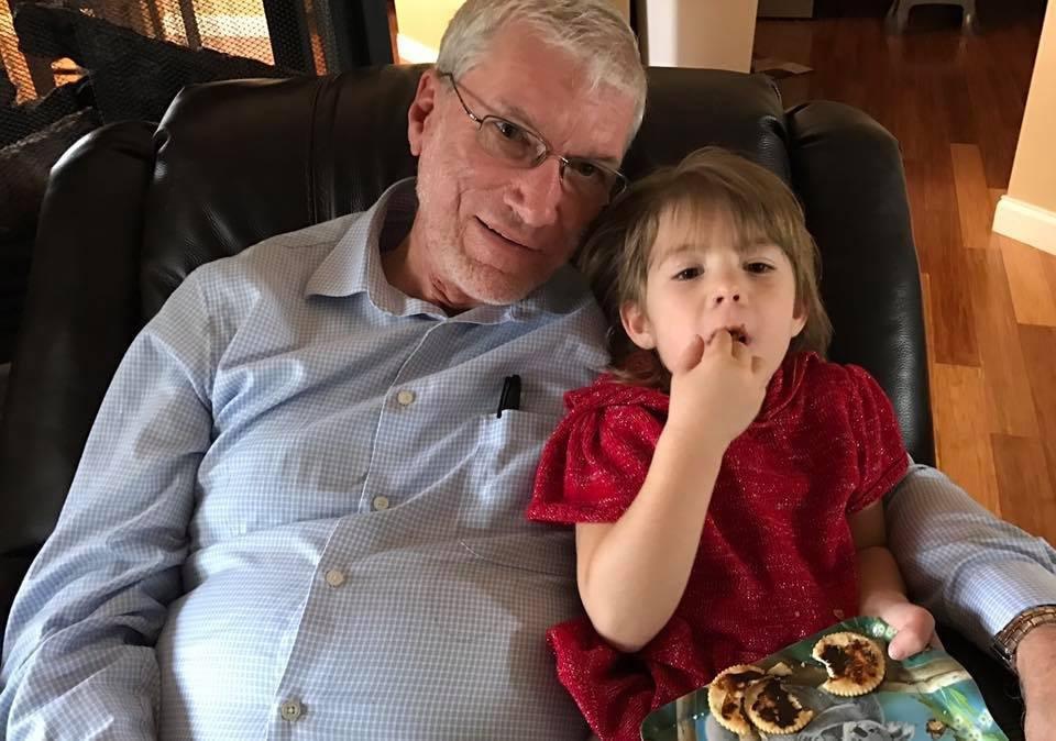 Ken and Granddaughter
