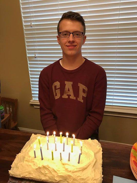 Malachi's Birthday Cake