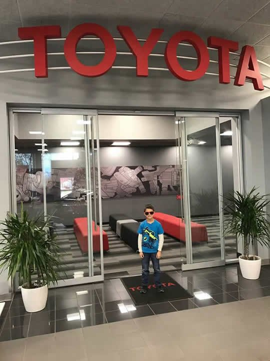Touring Toyota Plant