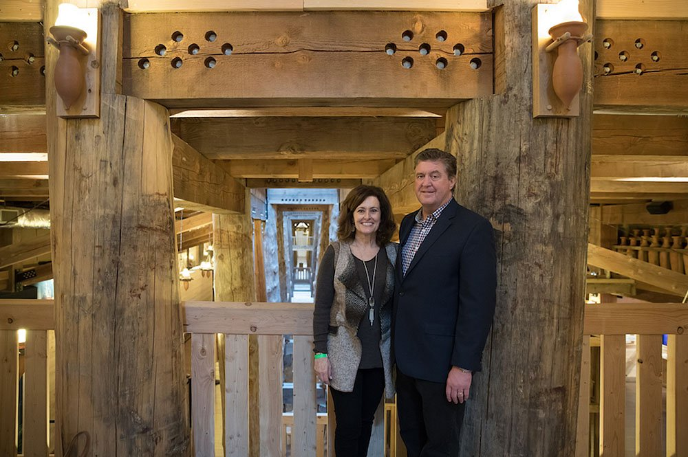 Steve and Donna Gaines Inside Ark