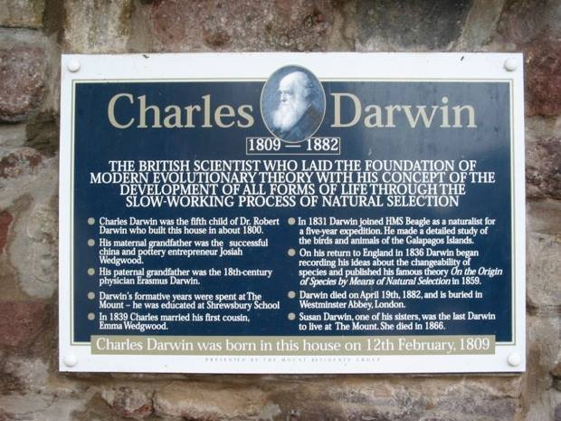 House where Charles Darwin was built