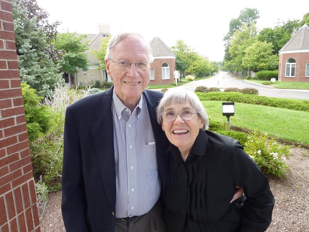 Judge David Grossman and wife Peggy
