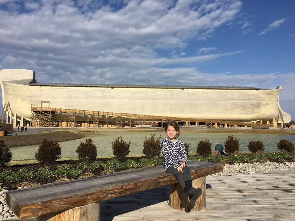 Granddaughter at Ark