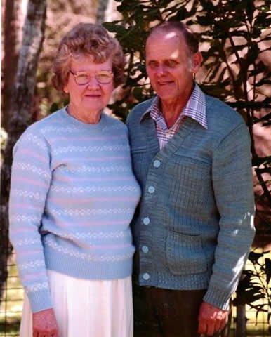 Norma and Mervyn Ham