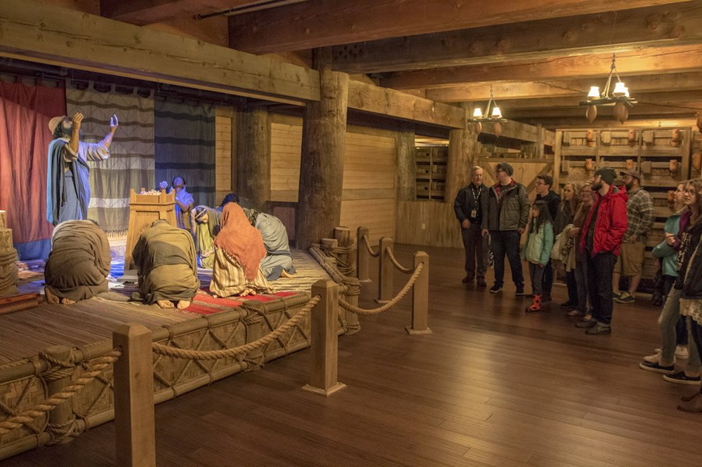 Casting Crowns Visit to Ark Encounter