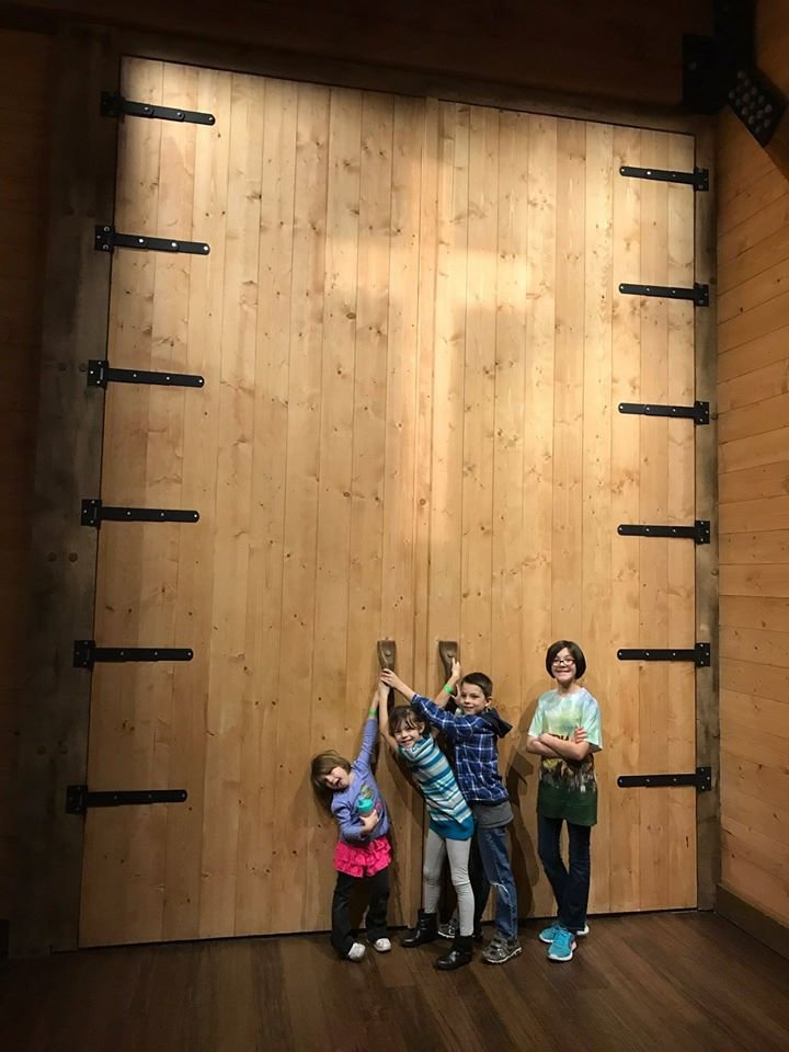 Grandchildren at Ark Encounter