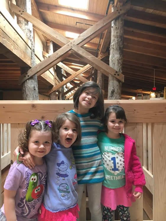 Granddaughters at Ark Encounter