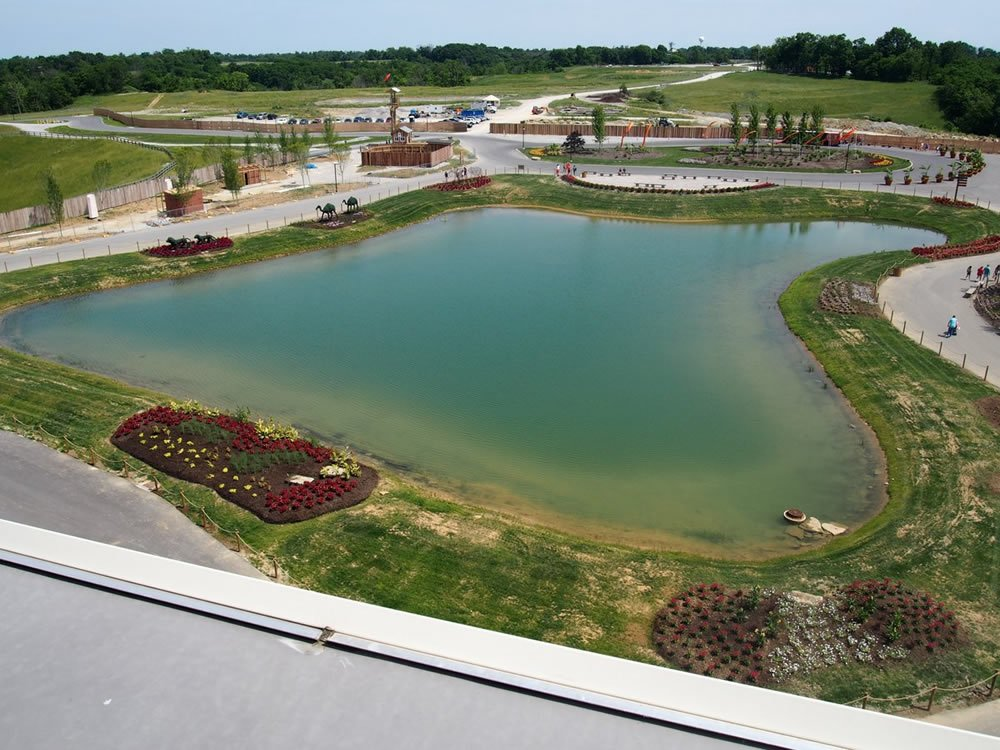 Ark Encounter Lake