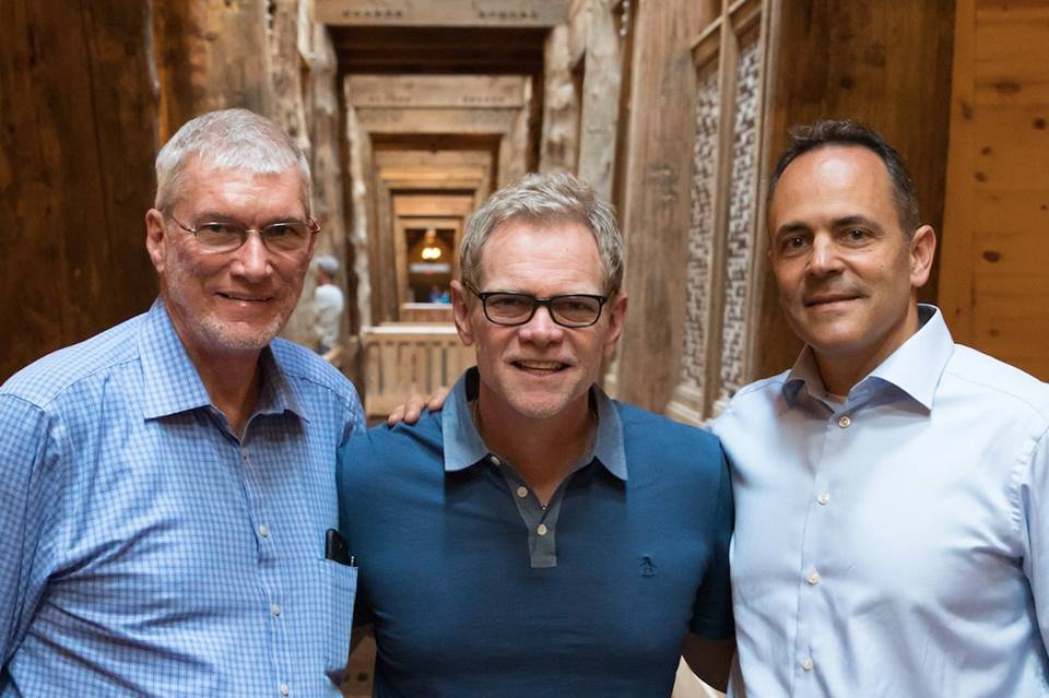 Ken Ham, Steven Curtis Chapman, and Governor Matt Bevin