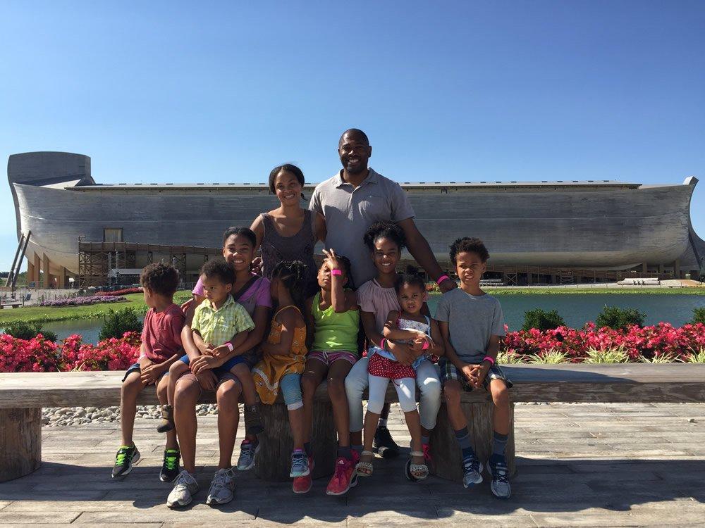 Shaun Alexander Family
