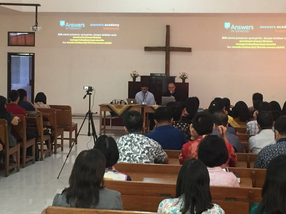 David Chakranarayan Teaching in Indonesia