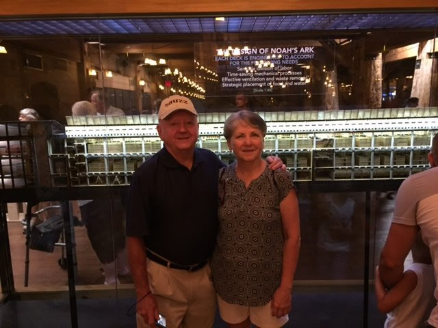 Joy and Husband at Ark Encounter