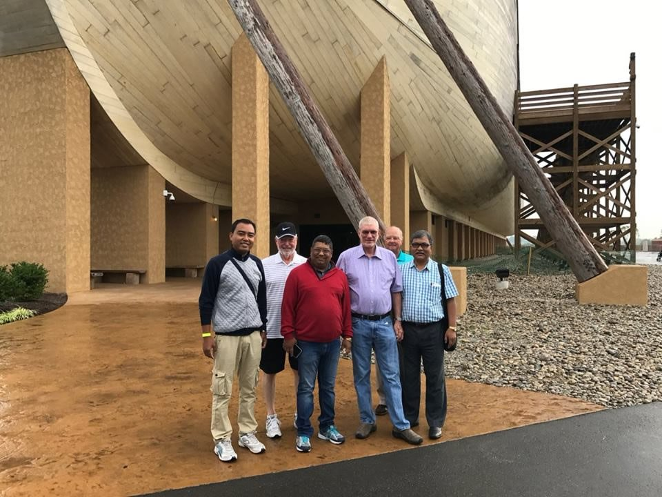 Ken Ham with Pastors from India