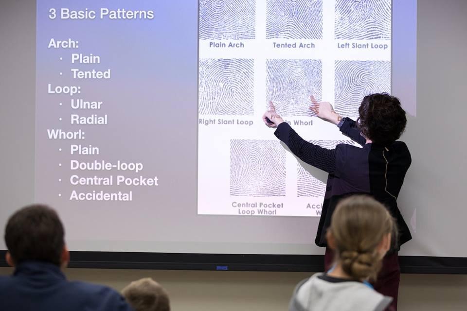 Forensic Science Workshop on Fingerprint Analysis