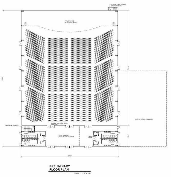 Auditorium at the Ark Encounter