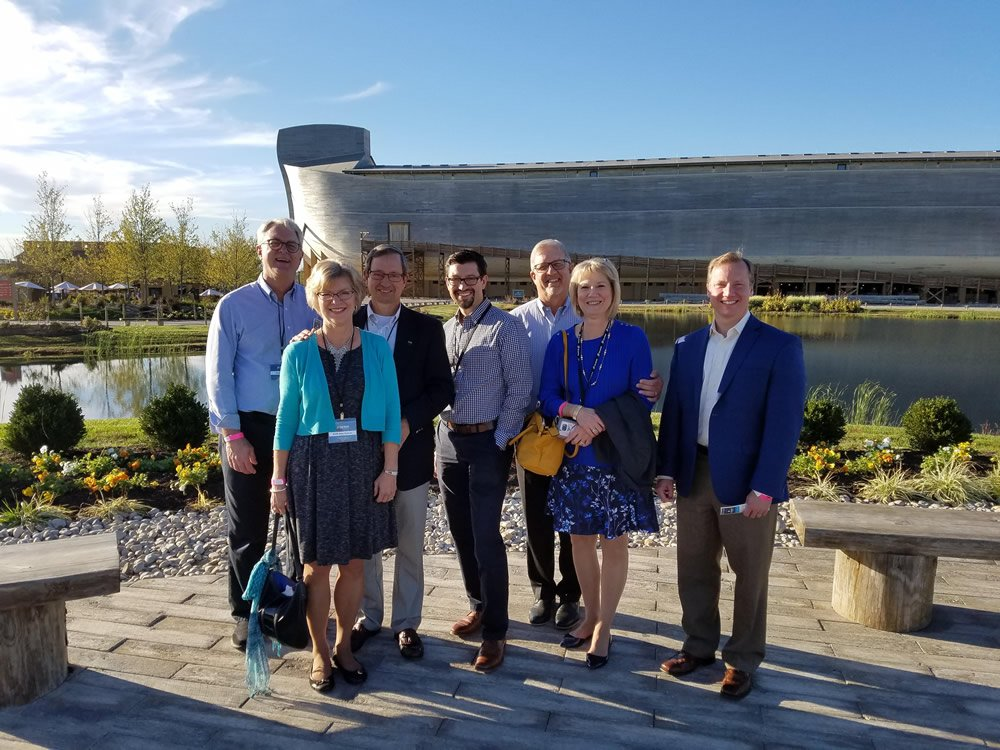 Barna Group in Front of Ark Encounter